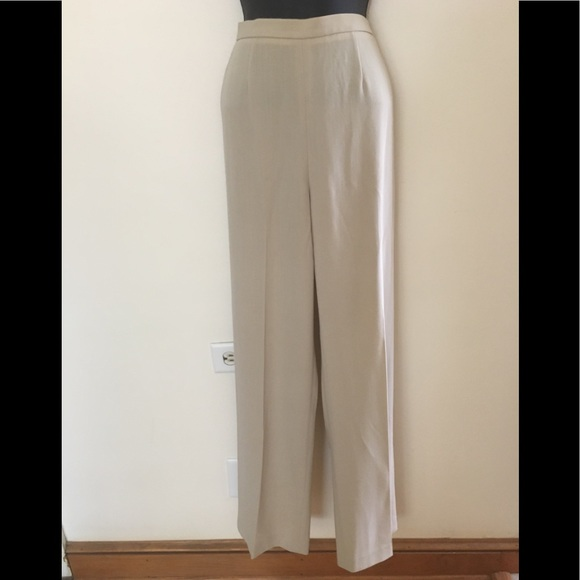 MaxMara High Waisted Wool Trousers Pants. 6